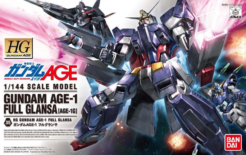 HG Gundam Age 1 Full Glansa