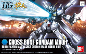 HGBF Cross Bone Gundam Maou