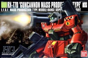 HGUC Guncannon mass