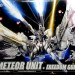 HG Meteor Unit + Freedom Gundam