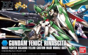 HGBF Gundam Fenice Rinascita box