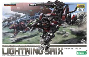 Zoid Lightning Saix