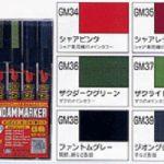 Gundam Marker Zaku set