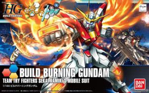 HGBF Burning Gundam