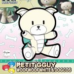 Petit'gguy WoofWoofWhite Dogcos
