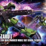 HG Origin Zaku 1