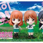 Petiture-rise GIRLS und PANZER Miho-Saori-Hana